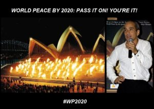 World Peace Fire Show Sydney Opera House