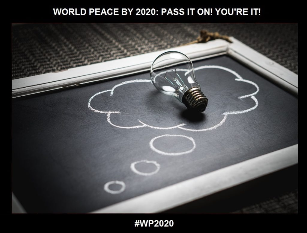 "Contribution-Yet Another ""Source Word"" for Transformation-2 of 36-WORLD PEACE ON Tuesday 15 September 2020"