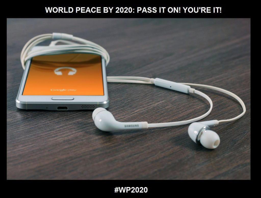 Listening For The Gold and What Can be in the Way!-Digital Listening-WORLD PEACE BY 2020-CHARLESCRAWSHAW