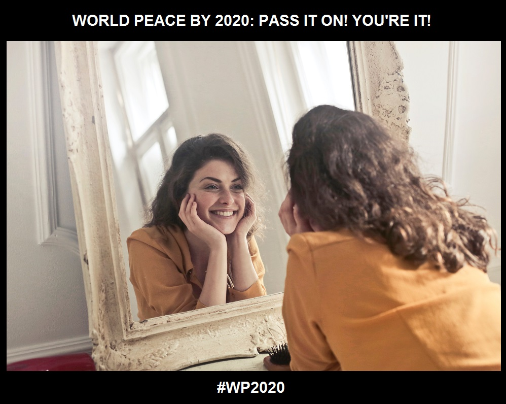 Mirror Work-An Access to a New You-WORLD PEACE BY 2020-CHARLESCRAWSHAW