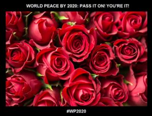 CELEBRATING A MOMENT-Smell Those Roses!-WORLD PEACE ON Tuesday 15 September 2020-Charlescrawshaw