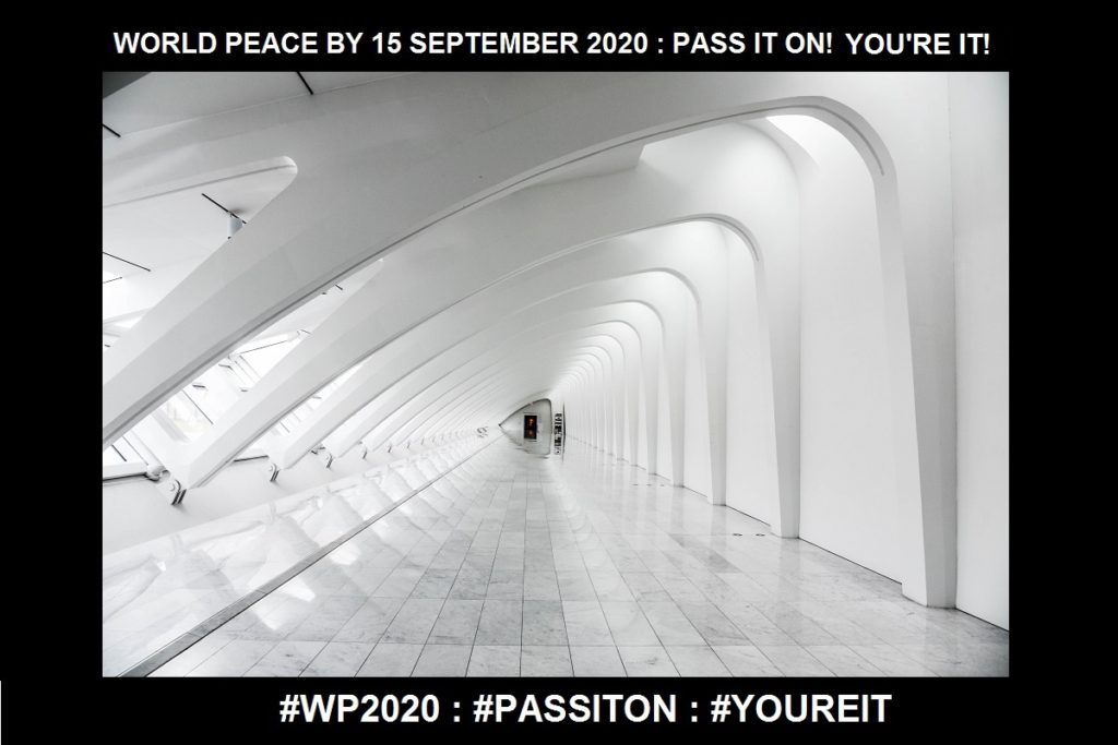 Nothing-One Access to Transformation Where There is NO MEANING-13 of 36-WORLD PEACE ON Tuesday 15 September 2020