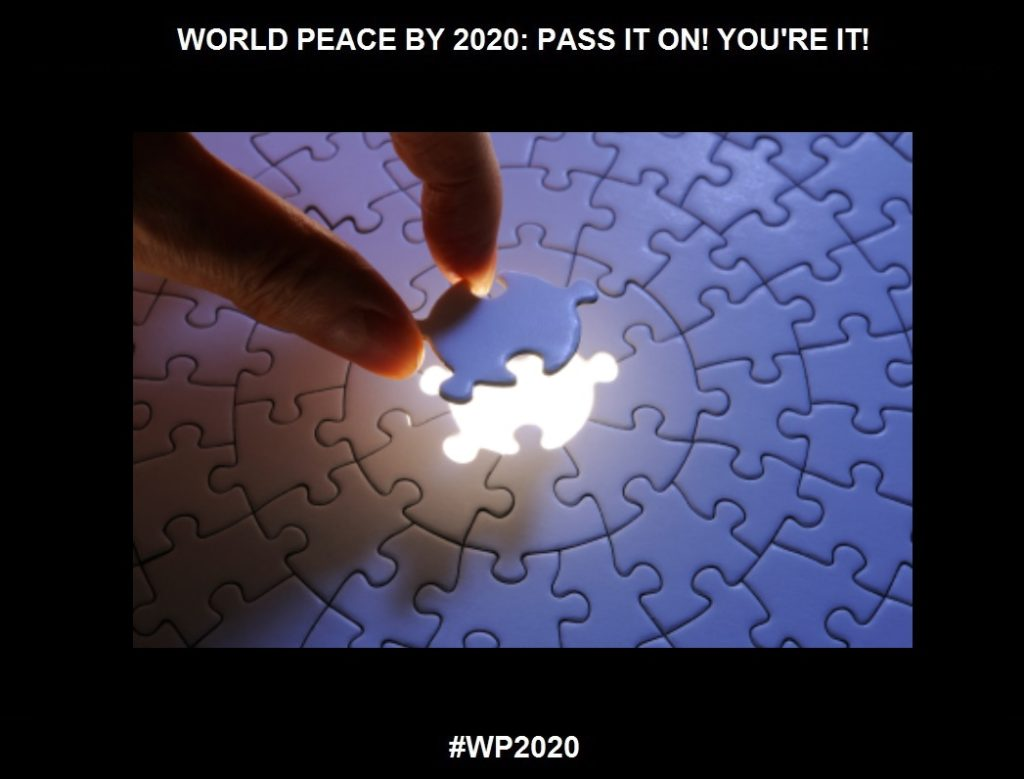"Completion-An ""ONGOING"" Access To Power-8 of 36-WORLD PEACE ON Tuesday 15 September 2020"