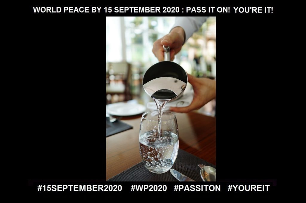 Service-Another Access to Transformation-21 of 36-WORLD PEACE ON Tuesday 15 September 2020