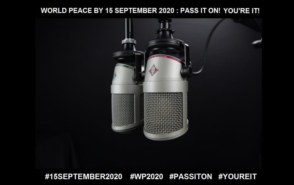 Communication-Another Access to Transformation-19 of 36-WORLD PEACE ON Tuesday 15 September 2020