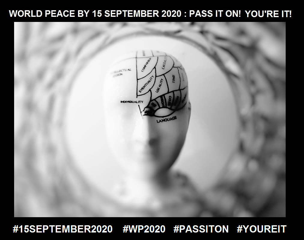 Creating From Nothing-Another access to Transformation-17 of 36-WORLD PEACE ON Tuesday 15 September 2020