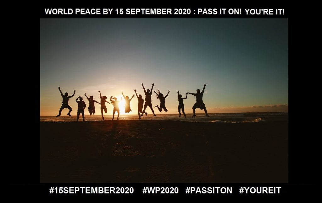 Enrolment-A Possibility that Touches, Moves, and Inspires You-22 of 36-WORLD PEACE ON Tuesday 15 September 2020