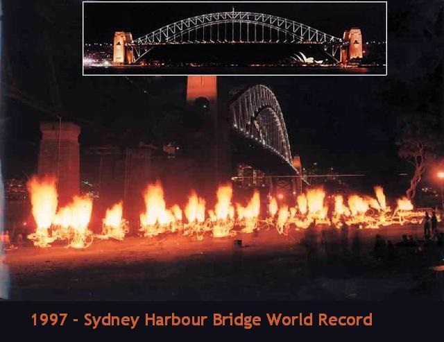 Creating From Nothing-Another access to Transformation-Sydney Harbour Bridge World Record