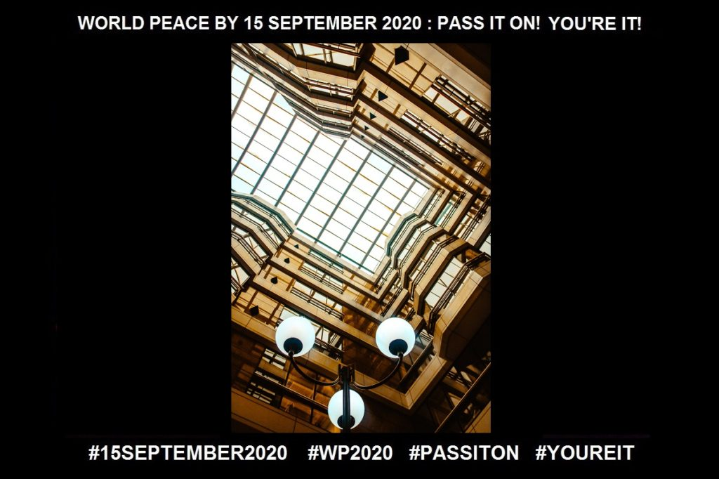 Self Expression-The Discovery is So Enlightening-25 of 36-WORLD PEACE ON Tuesday 15 September 2020
