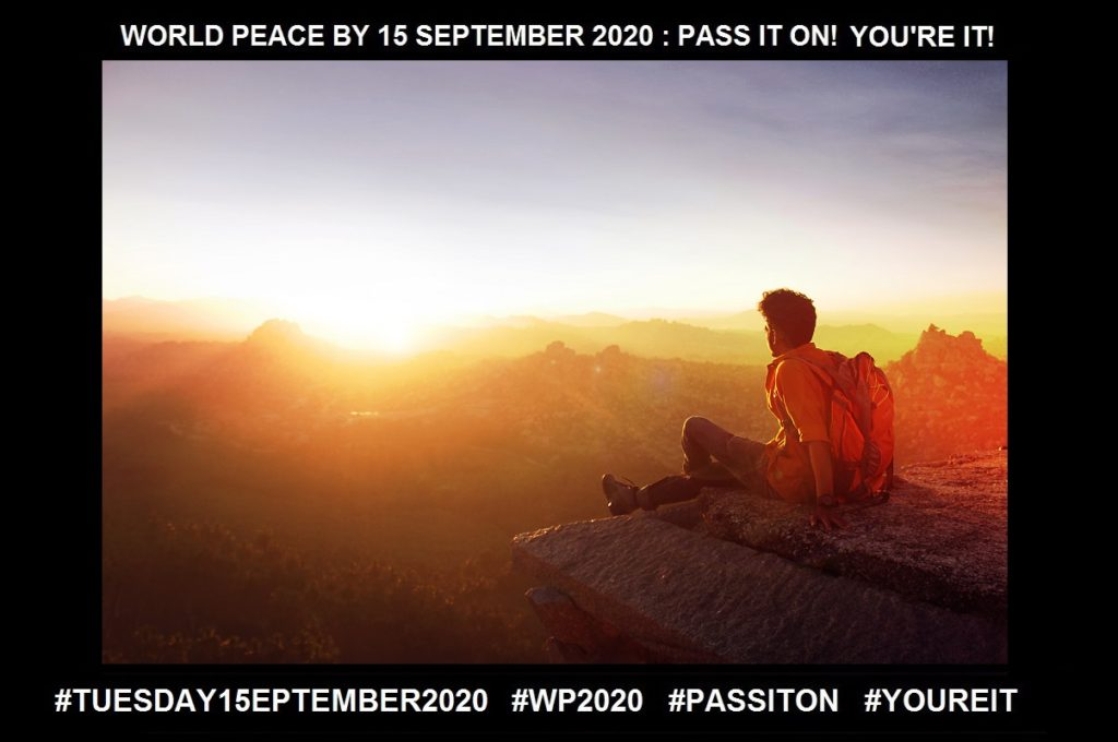 Acknowledgement-Granting a Listening-26 of 36-WORLD PEACE ON Tuesday 15 September 2020