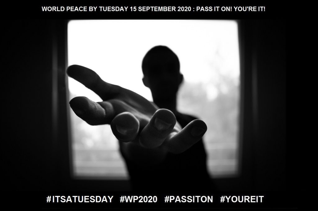 Making a Difference-YIPPEE!-32 of 36-WORLD PEACE ON Tuesday 15 September 2020