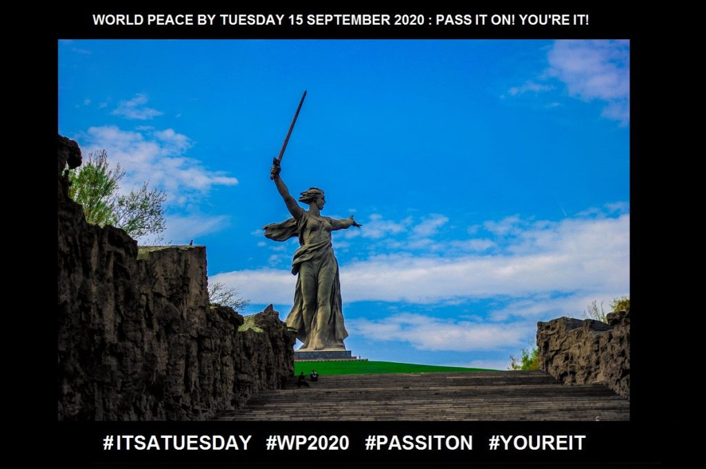 Unreasonable Request-Magic Happens-29 of 36-WORLD PEACE ON Tuesday 15 September 2020
