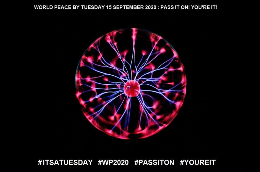 Energy-Power at Hand-10 of 65-WORLD PEACE ON Tuesday 15 September 2020