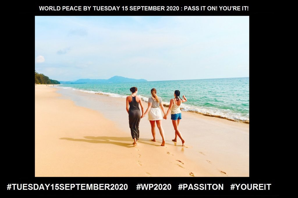 Friends-A Person with whom One has a Bond of Mutual Affection-9 of 65-WORLD PEACE ON Tuesday 15 September 2020