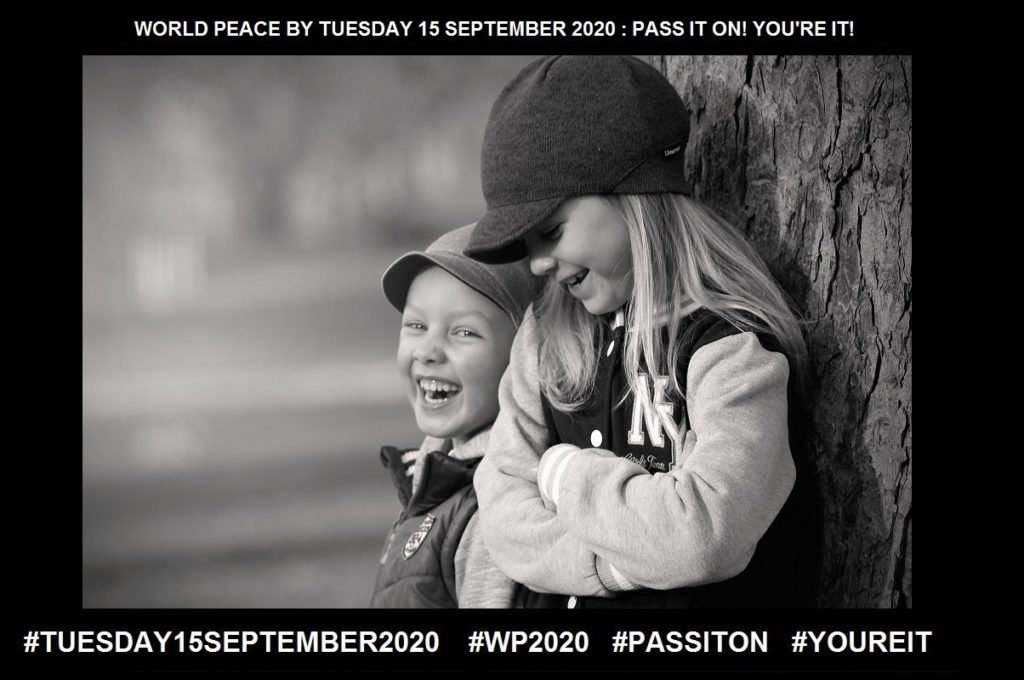 Laughter-An Expression of Amusement-8 of 65-WORLD PEACE ON Tuesday 15 September 2020