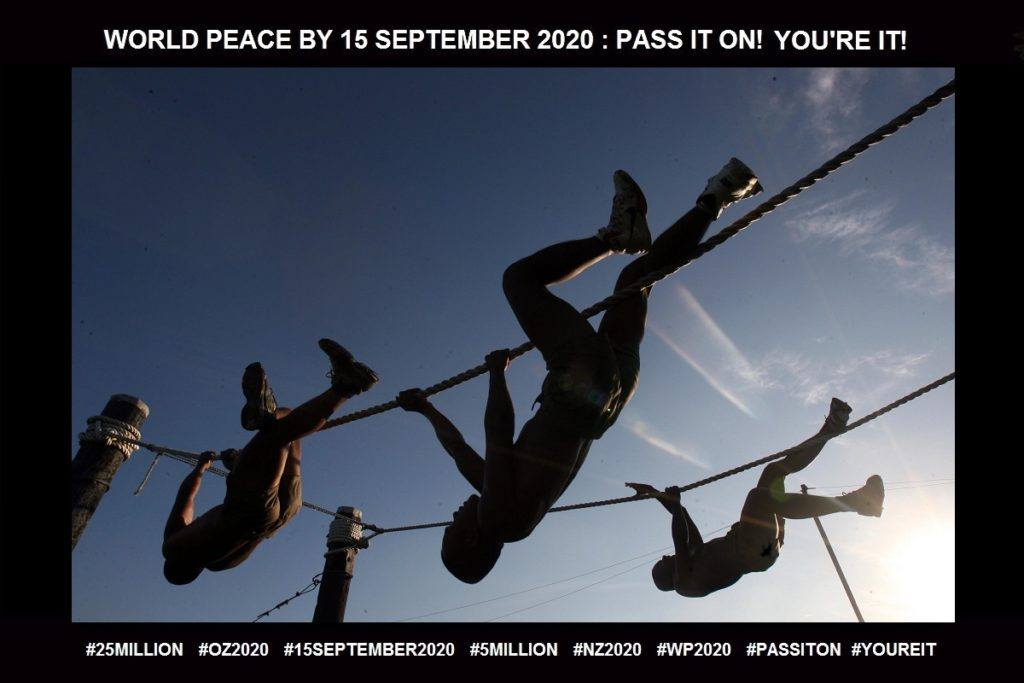 Motivate-Provides Reasonable Actions-18 of 65-WORLD PEACE ON Tuesday 15 September 2020