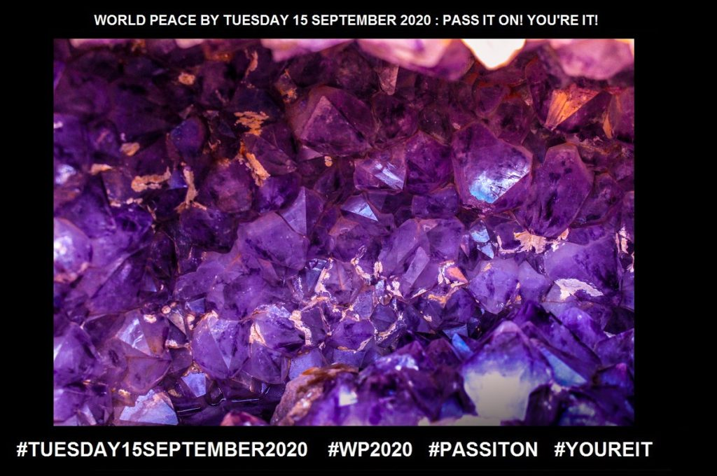 Precious-Of Great Value-1 of 64-WORLD PEACE ON Tuesday 15 September 2020