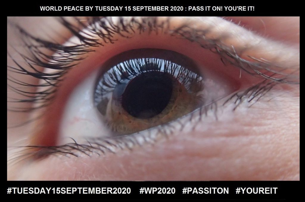 Visualise-Form a Mental Image-3 of 65-WORLD PEACE ON Tuesday 15 September 2020