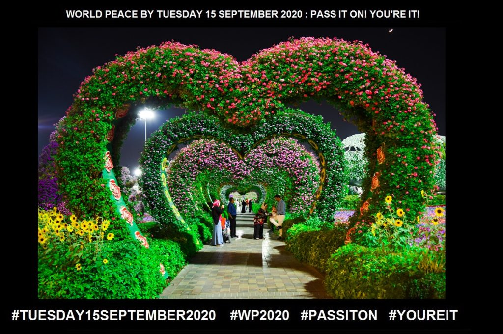 Love-Intense Feeling of Deep Affection-21 of 65-WORLD PEACE ON Tuesday 15 September 2020