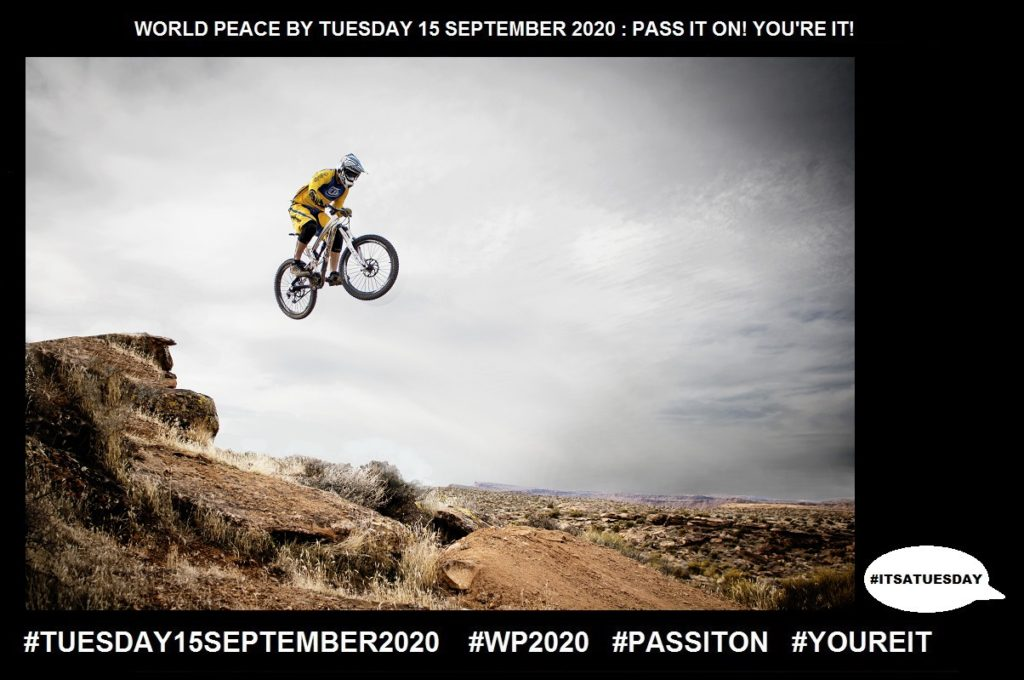 Action-Process of Doing Something-29 of 65-WORLD PEACE ON Tuesday 15 September 2020