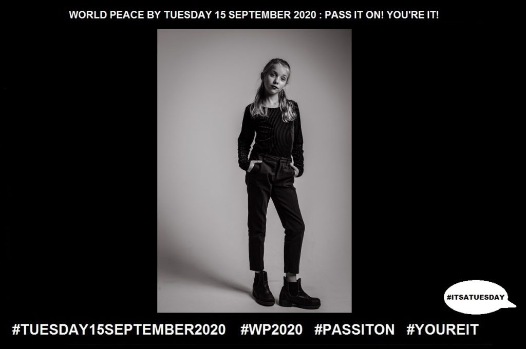 Attitude-Settled Way of Thinking-31 of 65-WORLD PEACE ON Tuesday 15 September 2020