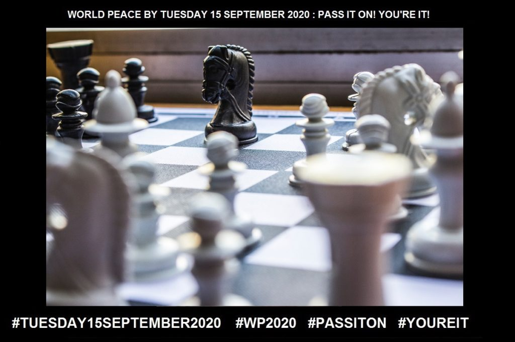 Decisions-A Resolution Reached After Consideration-38 of 65-WORLD PEACE ON Tuesday 15 September 2020