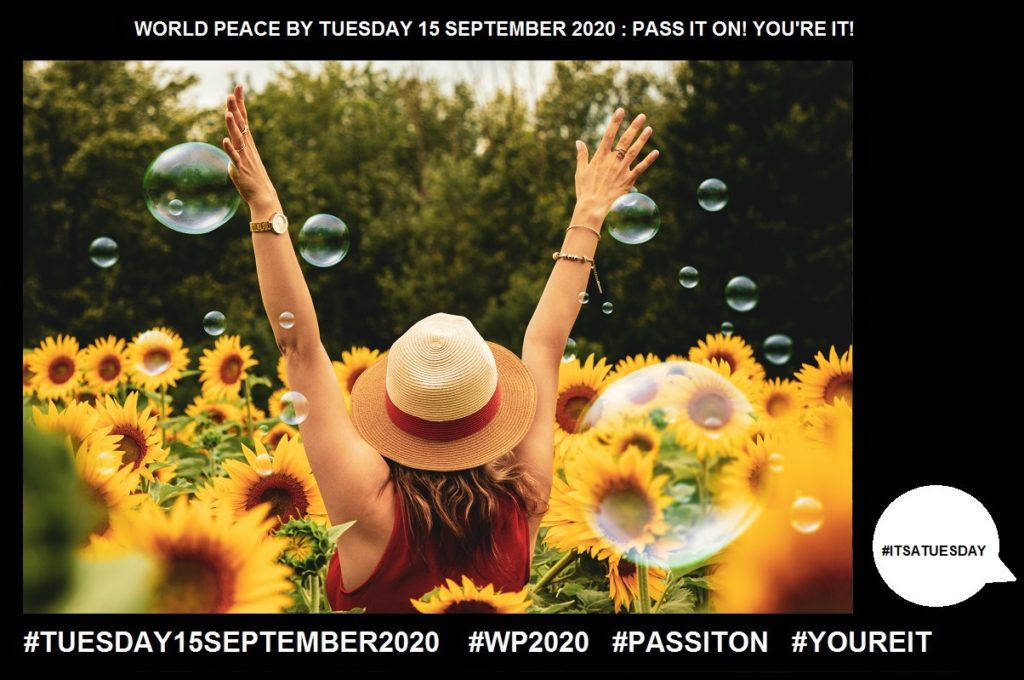 Joy-Feeling of Great Pleasure-50 of 65-WORLD PEACE ON Tuesday 15 September 2020