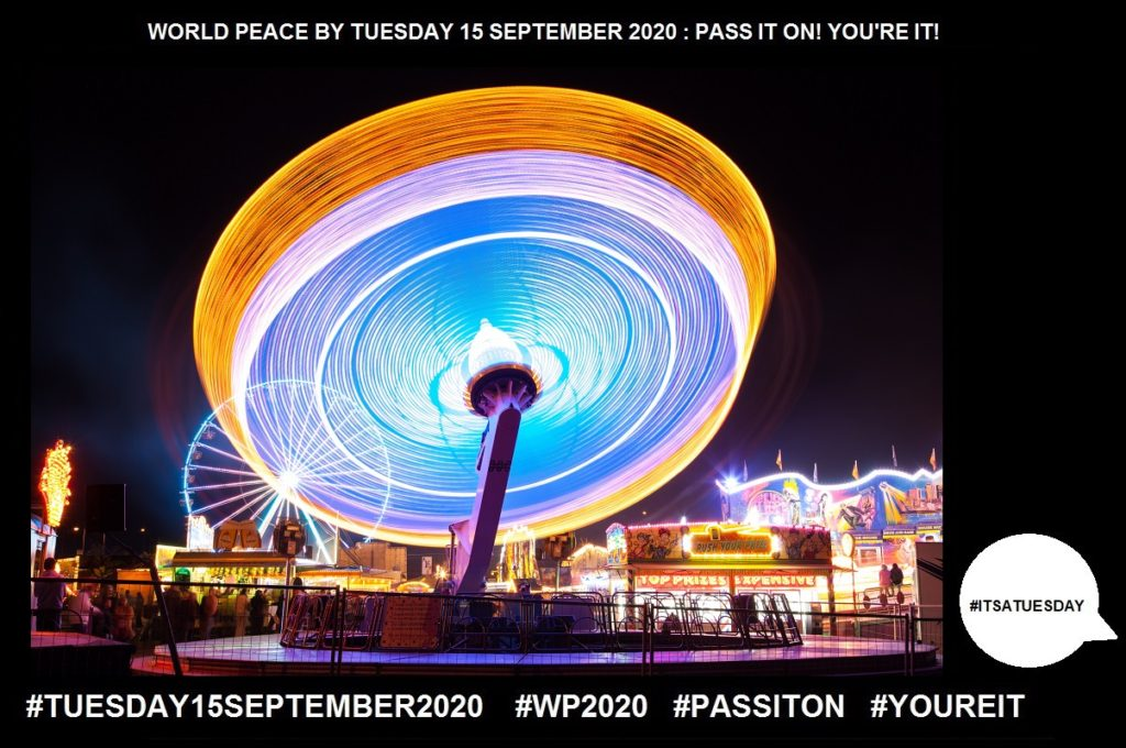 Pleasure-Feeling of Happy Satisfaction-51 of 65-WORLD PEACE ON Tuesday 15 September 2020
