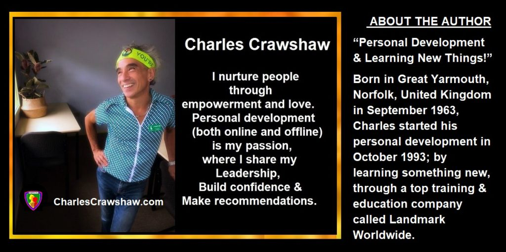 """Hero Statement"" and a little background about Charles Crawshaw charlescrawshaw.com"