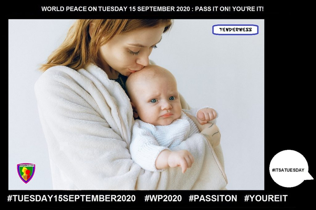 Tenderness-Sensitivity to Pain-11 of 55-WORLD PEACE ON Tuesday 15 September 2020