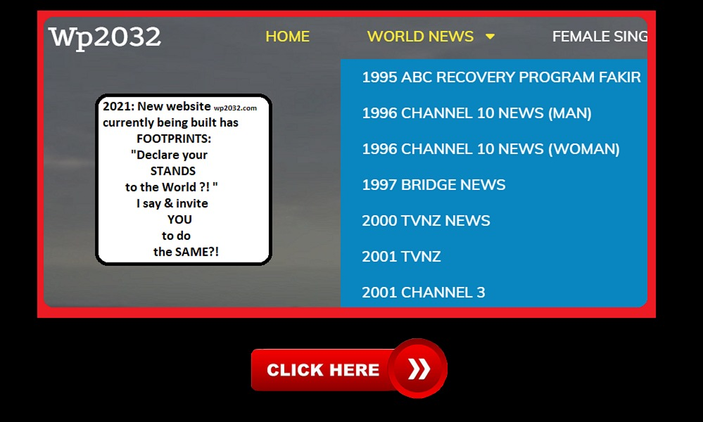 Banner for World News